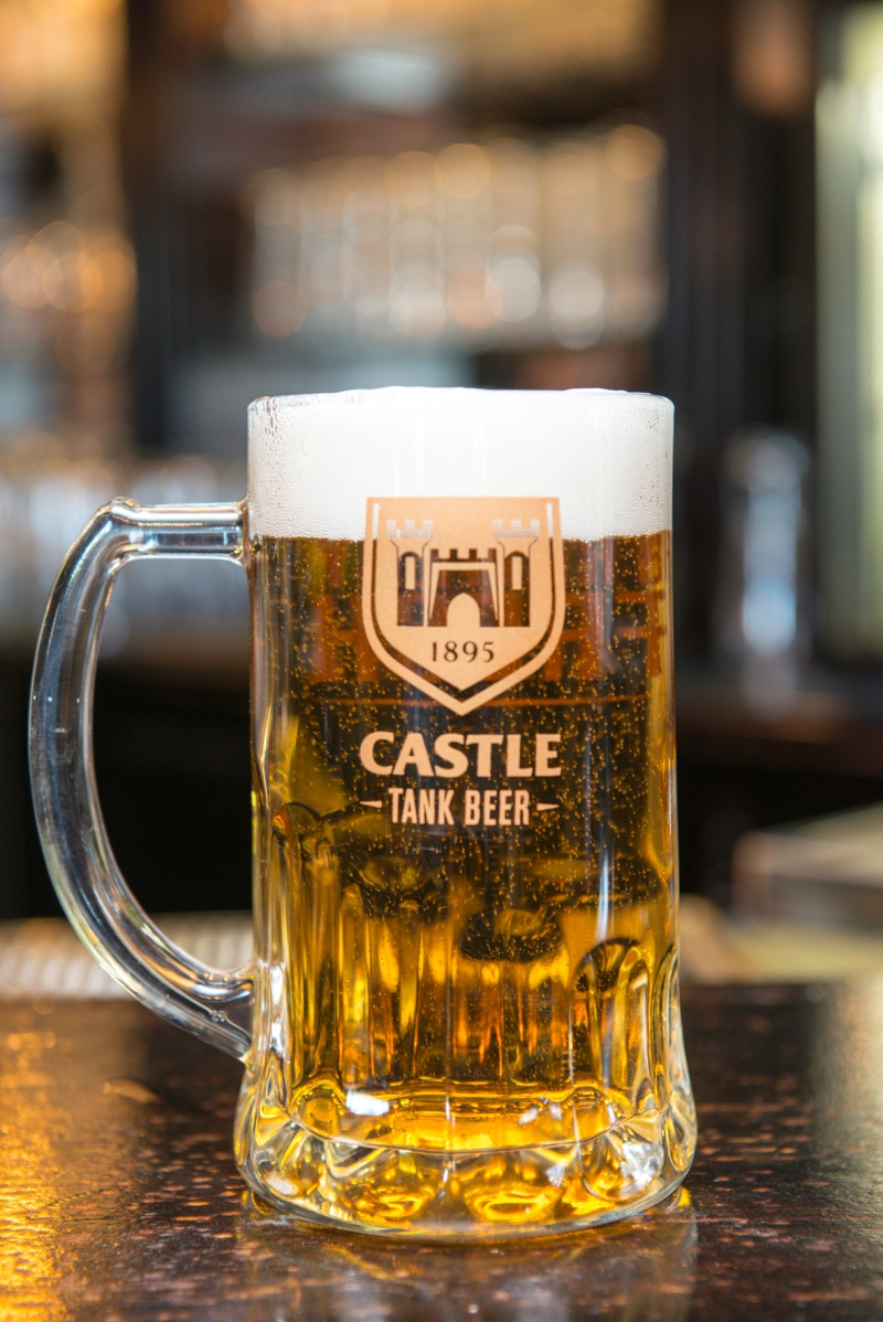 PHOTO_Castle Lager Tank Beer_in your glass